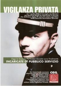 Roma, Decreto Vigilanza Privata