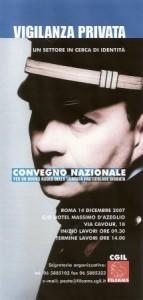 Roma, Convegno Vigilanza Privata