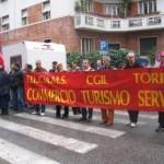 Roma, Sciopero Vigilanza Privata