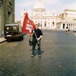 Roma, Arrivo in P.zza San Pietro.