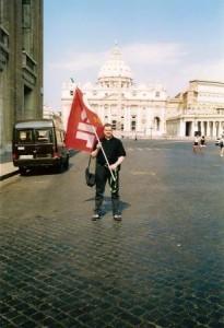 Roma, Arrivo in P.zza San Pietro