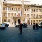 Roma, P.zza Montecitorio.